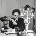 """Серж Лидо """"Жан Кокто (1889—1963) в своем доме"""" Париж, 1939"""