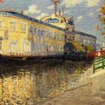 """Мариан Пиделасерра """"Желтые бани. Утреннее солнце"""" 1900-1901"""