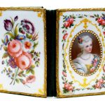 Портмоне с эмалевыми обложками. Европа, Конец 19 - начало 20 веков