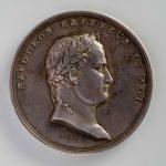 """Памятная медаль """"Император Наполеон"""" 1809 Франция"""
