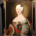 """А. Пэн(?) """"Принцесса Иоганна Елизавета Ангальт-Цербстская"""" 1740-е"""