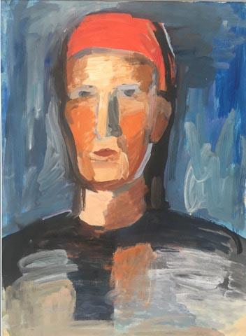 А. Лепорская «Портрет» Частное собрание