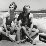 """Серж Лидо """"Рудольф Нуреев и Эрик Брун в Греции на Афинском фестивале"""" 1963"""