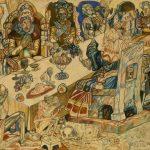 """П.Н. Филонов """"Пир королей"""" 1912"""