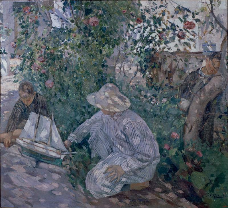 """Игнасио Майоль """"Кусты роз (Коста-Брава)"""" 1920"""