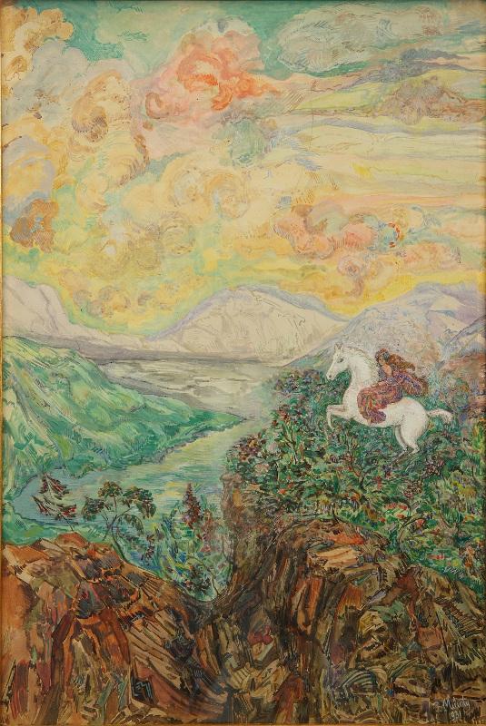 """Милиоти Н.Д. """"Сафо"""" 1928"""