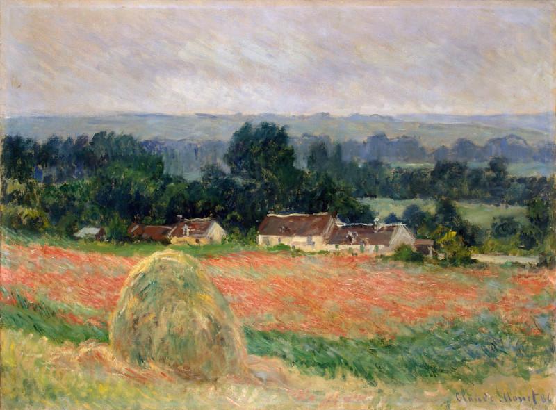 """Клод Моне """"Стог сена в Живерни"""" 1886"""