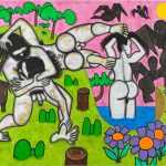 "Carroll Dunham ""Any Day"" 2017"