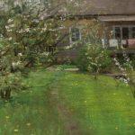 """И.И. Левитан """"Цветущий сад"""" Середина 1890-х"""
