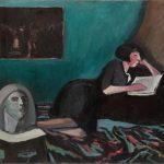"""Константин Истомин """"Читающая женщина"""" 1931"""