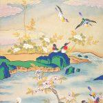 Персональная выставка корейской художницы.
