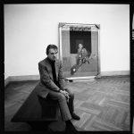 """Гарри Бенсон """"Миа Ферроу и Фрэнк Синатра"""" Отель Plaza. Нью-Йорк, 1966"""