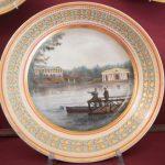 Тарелка из Бабигонского сервиза. Императoрский фарфоровый завод, Санкт-Петербург, 1820-е