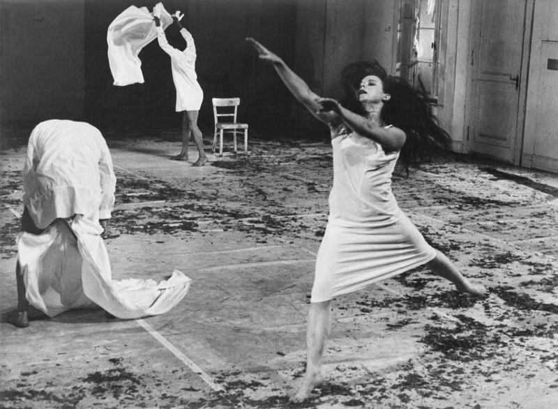 """Серж Лидо """"Танцтеатр Вупперталь. Пина Бауш. """"Kontakthof"""" Театр де ла Вилль. Париж, 1978"""