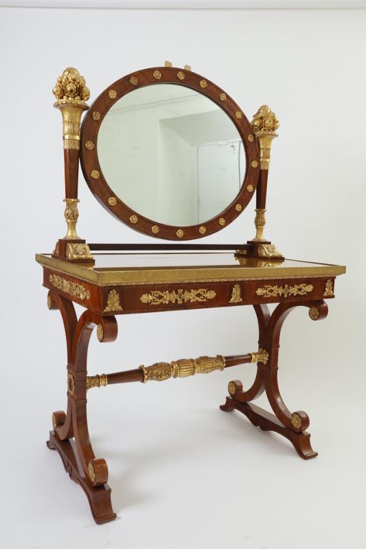 Туалетный стол с зеркалом-псише, Россия, XIX век