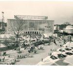 А.Т. Полянский и др. Павильон СССР на Всемирной выставке ЭКСПО-1958 в Брюсселе. Фото 1958