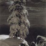 """И.И. Шишкин """"На севере диком"""" 1890"""