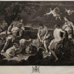"Р. Ирлом (по оригиналу Л. Джордано) ""Суд Париса"" 1778"