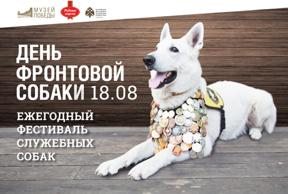 День фронтовой собаки в Музее Победы.