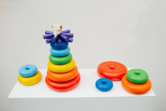 """Коллективная выставка """"Полосатый рейс"""". Галерея 11.12 в Центре современного искусства Винзавод."""