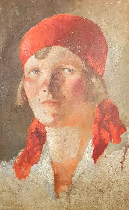 А. В. Ванециан «Работница» 1930-е