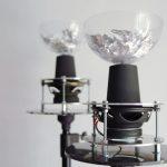 Акустическая среда, созданная ансамблем звуковых скульптур.