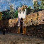 "Мариано Фортуни ""Улица Гранателло в Портичи"" 1874"