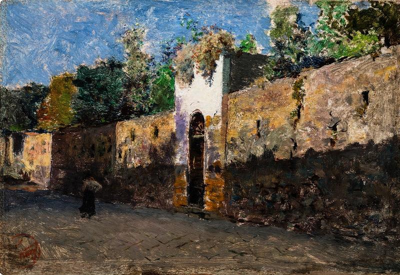 "Мариано Фортуни""Улица Гранателло в Портичи"" 1874"