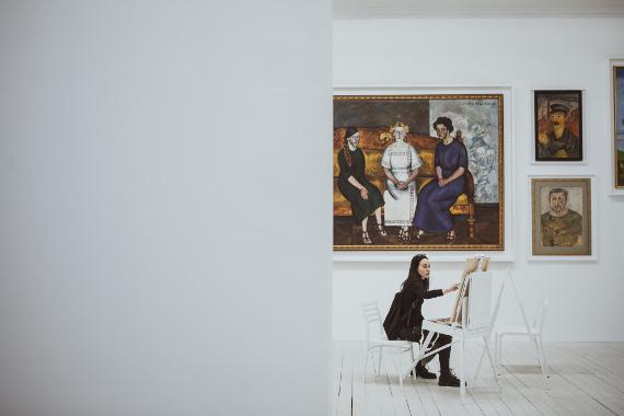 Московский музей современного искусства ММОМА – Музей года Cosmoscow 2019.