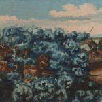 Гибель войска фараона в Чермном море. Конец XVIII века. Вологда