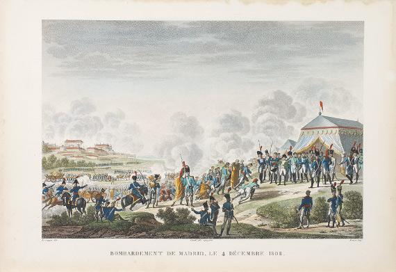 Э. Бовине, Л.Ф. Куше с оригинала И. Лекомта «Бомбардировка Мадрида 4 декабря 1808 года».