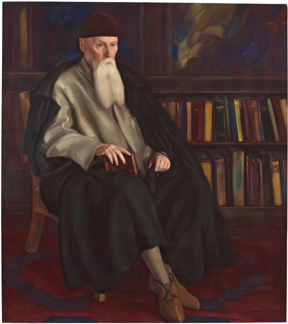 Святослав Рерих «Профессор Николай Рерих» 1942