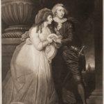 """Т. Парк (по оригиналу М. Брауна) """"Актеры Джозеф Джордж Холман и Энн Брантон в трагедии """"Ромео и Джульетта"""" 1787"""
