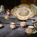Сервиз для завтрака на две персоны. Франция, Сервская королевская мануфактура 1773
