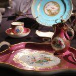 Сервиз для завтрака на одну персону. Австрия, Венская королевская мануфактура 1783-1787
