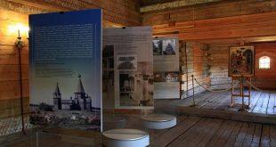 Интерьеры деревянных церквей.