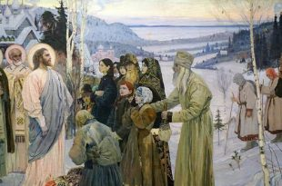 М. В. Нестеров. Святая Русь. Реставрация.