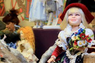 3-я выставка авторских кукол «Праздник кукол».
