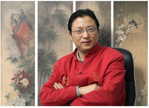 Художник Ли Сяомин. © Фото из личного архива Ли Сяомина