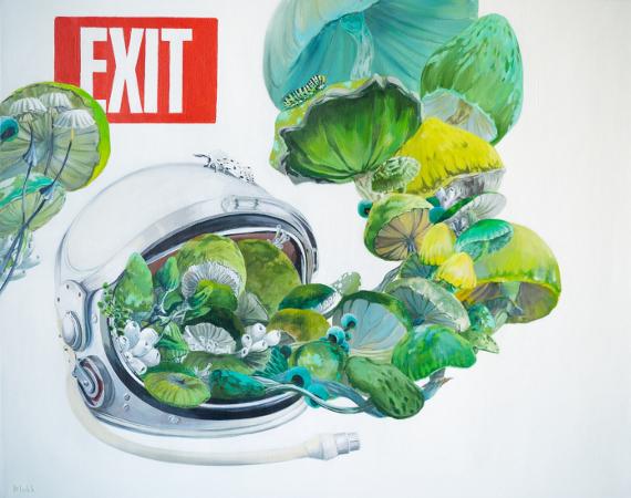 Сергей Блох «Выход». Предоставлено: © Artis Gallery.