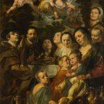 """Якоб Йорданс """"Автопортрет с родителями, братьями и сестрами"""" Около 1615"""
