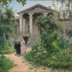 "Василий Поленов ""Бабушкин сад"" 1878"