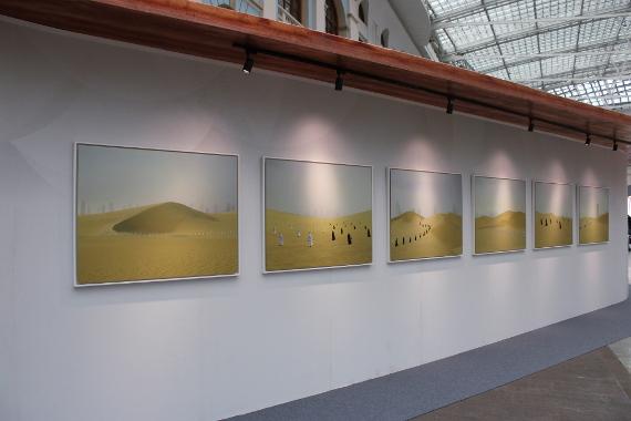 "Выставка ""Белое солнце"". Фото: © Cultobzor.ru"