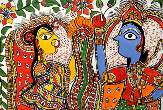 Фестиваль индийской культуры в Доме Гоголя.