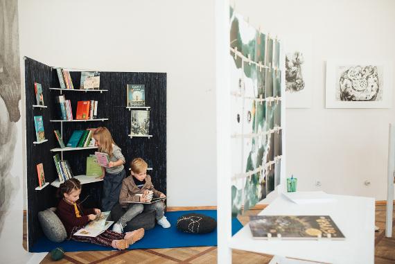 """Выставка современной детской литературы Северных стран """"Привет, это я!"""". Государственный Музей Городской Скульптуры – Новый выставочный зал."""