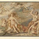 """Якоб Йорданс """"Похищение Европы"""" Около 1655-1660"""