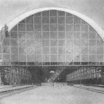 Дебаркадер Брянского вокзала в Москве. Фотография, 1910-е