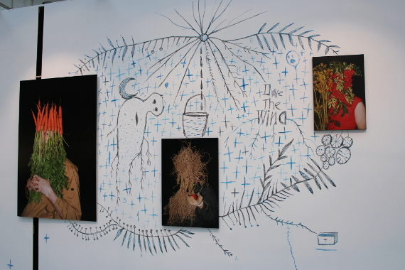 Обладатель Премии Credit Suisse и Cosmoscow для молодых художников Игорь Самолет. Фото: © Cultobzor.ru