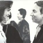 Андрей Вознесенский и Жаклин Кеннеди-Онассис. Нью-Йорк, 1990