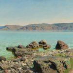 """Василий Поленов """"На Тивериадском (Генисаретском) озере"""" 1888"""